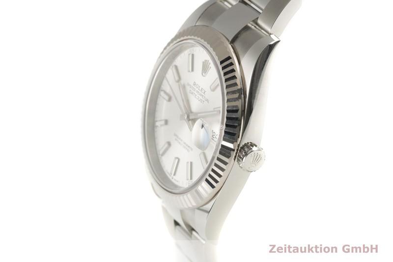 gebrauchte Luxusuhr Rolex Datejust Stahl / Weissgold Automatik Kal. 3235 Ref. 126334  | 2101840 _0