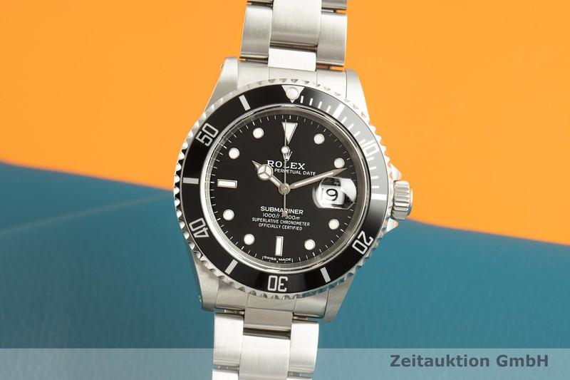 gebrauchte Luxusuhr Rolex Submariner Stahl Automatik Kal. 3135 Ref. 16610  | 2101846 _0