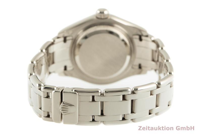 gebrauchte Luxusuhr Rolex Datejust 18k Weissgold Automatik Kal. 2235 Ref. 80299    2101863 _1
