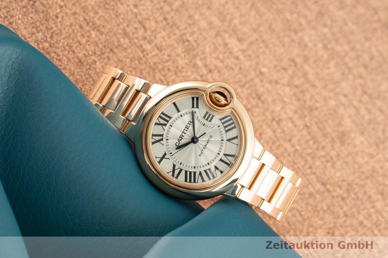 gebrauchte Luxusuhr Cartier Ballon Bleu de Cartier 18k Gold Automatik Kal. 076 Ref. 3682, WGBB0042    2101864 _0