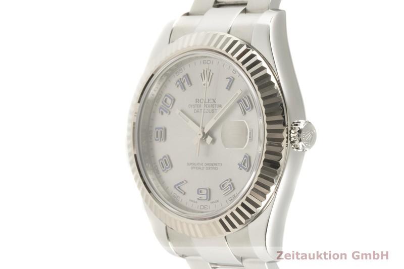 gebrauchte Luxusuhr Rolex Datejust Stahl / Weissgold Automatik Kal. 3136 Ref. 116334    2101867 _0