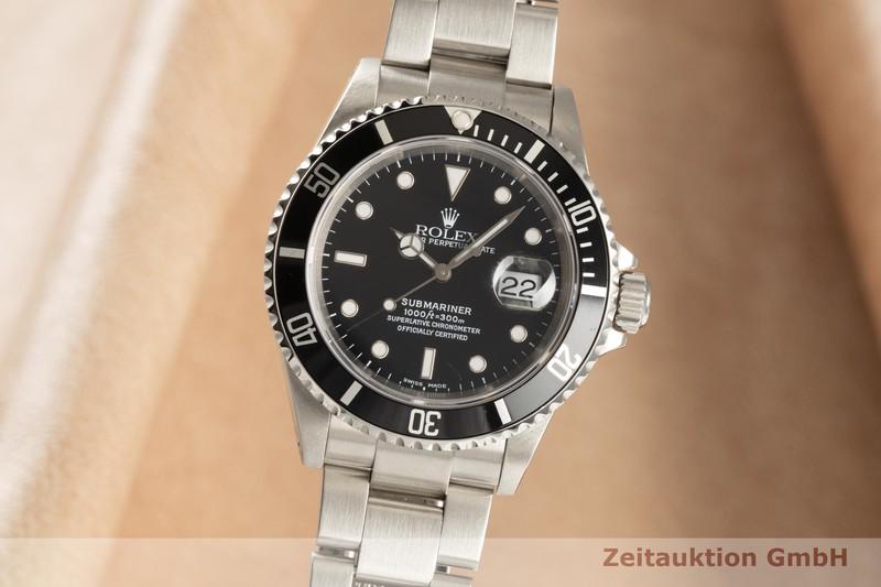 gebrauchte Luxusuhr Rolex Submariner Stahl Automatik Kal. 3135 Ref. 16610    2101874 _0