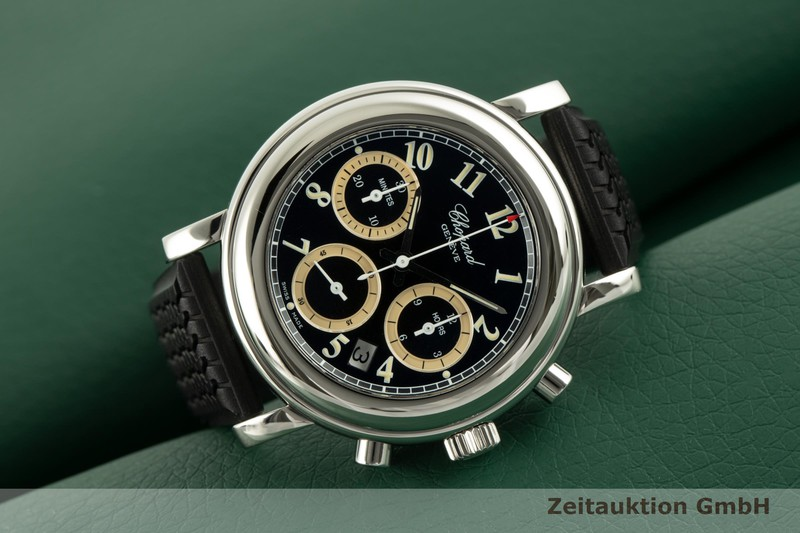 gebrauchte Luxusuhr Chopard Mille Miglia Chronograph Stahl Quarz Kal. 630/1 Ref. 12/8344  | 2101879 _0
