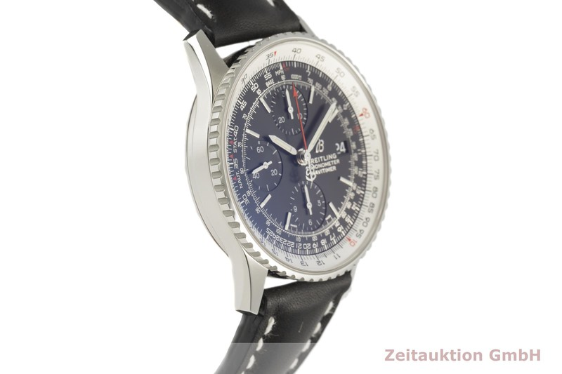 gebrauchte Luxusuhr Breitling Navitimer Chronograph Stahl Automatik Kal. B13 Ref. A13324  | 2101885 _0