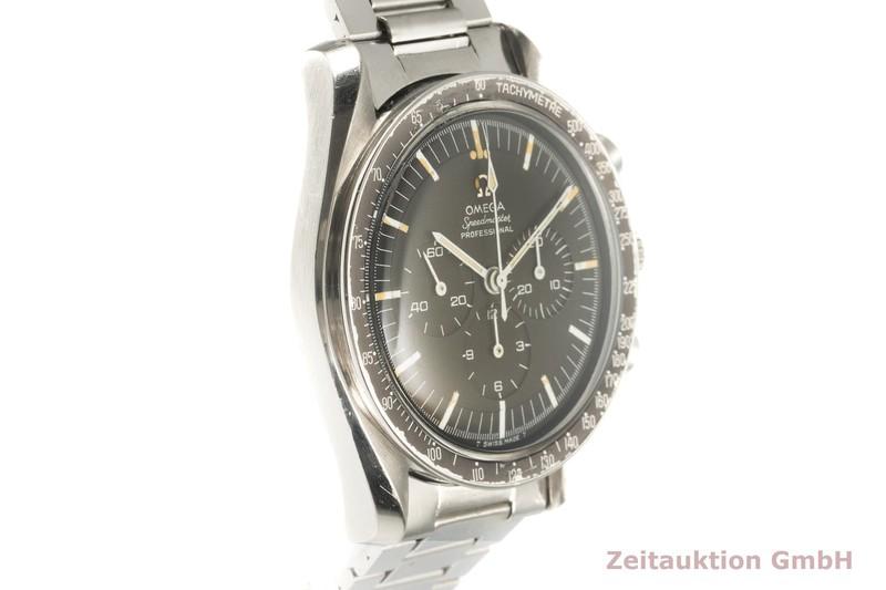 gebrauchte Luxusuhr Omega Speedmaster Chronograph Stahl Handaufzug Kal. 321 Ref. 105012-66  | 2101887 _0