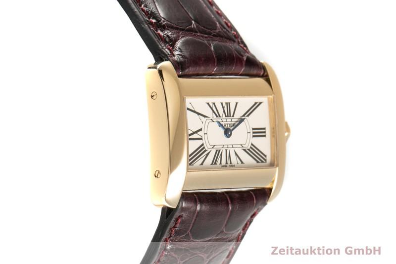 gebrauchte Luxusuhr Cartier Tank Divan 18k Gold Quarz Kal. 157 Ref. 2601    2101917 _0