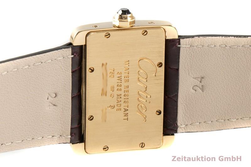 gebrauchte Luxusuhr Cartier Tank Divan 18k Gold Quarz Kal. 157 Ref. 2601    2101917 _1