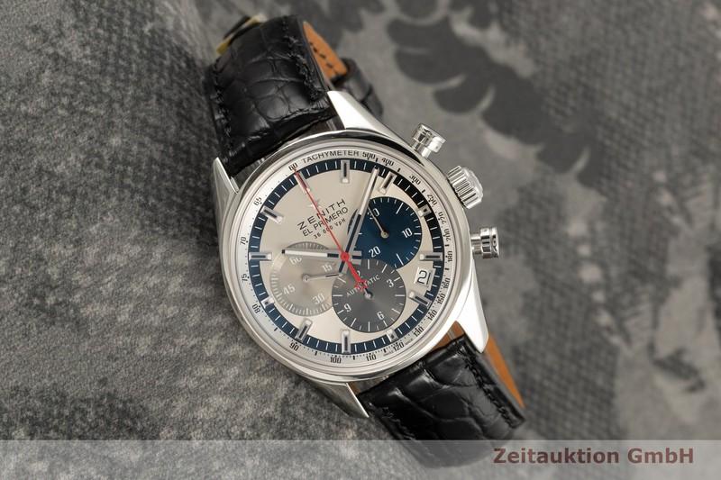 gebrauchte Luxusuhr Zenith El Primero Chronograph Stahl Automatik Kal. 400 Ref. 03.2150.400/69.M2150  | 2101928 _0