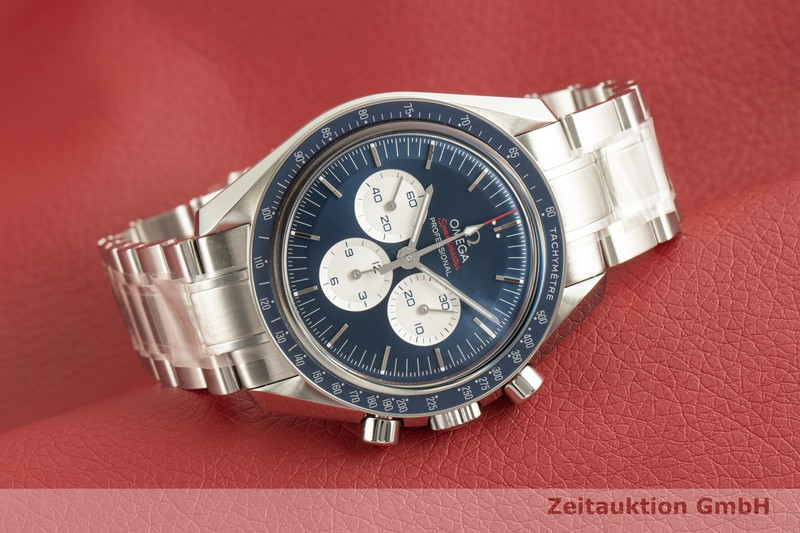 gebrauchte Luxusuhr Omega Speedmaster Chronograph Stahl Handaufzug Kal. 1861 Ref. 522.30.42.30.03.001 LIMITED EDITION | 2101938 _0