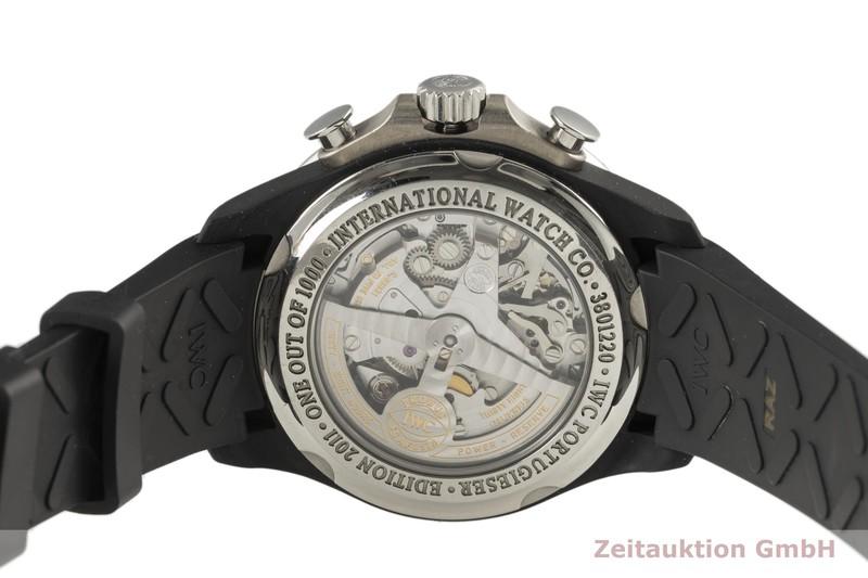 gebrauchte Luxusuhr IWC Portugieser Chronograph Stahl / Kautschuk Automatik Kal. 89361 Ref. IW390208, 3902 LIMITED EDITION | 2101942 _1