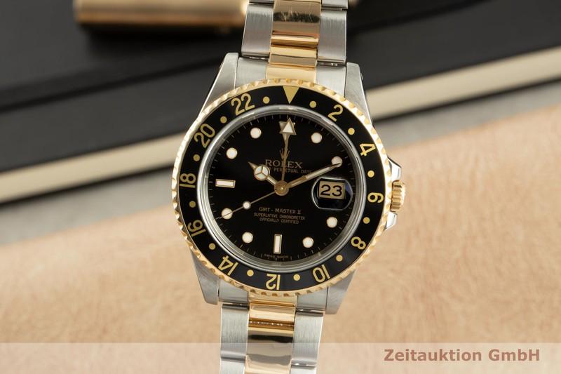 gebrauchte Luxusuhr Rolex GMT Master II Stahl / Gold Automatik Kal. 3185 Ref. 16713  | 2101949 _0