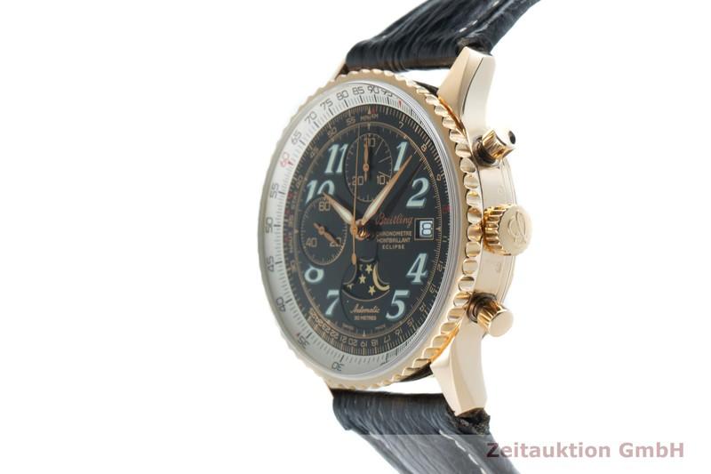 gebrauchte Luxusuhr Breitling Montbrillant Chronograph 18k Gold Automatik Kal. B43 Ref. H43330  | 2101951 _0