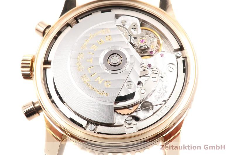 gebrauchte Luxusuhr Breitling Montbrillant Chronograph 18k Gold Automatik Kal. B43 Ref. H43330  | 2101951 _1