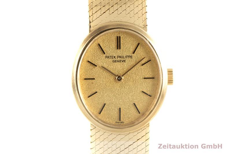 gebrauchte Luxusuhr Patek Philippe Ellipse 18k Gold Handaufzug Ref. 3351/1    2101960 _0