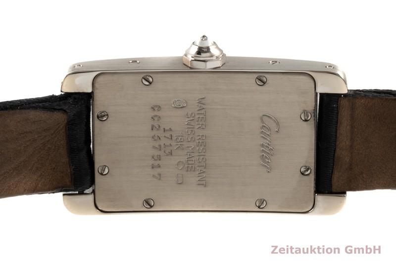 gebrauchte Luxusuhr Cartier Tank Américaine 18k Weissgold Quarz Kal. 157.06 Ref. 1713    2101978 _1