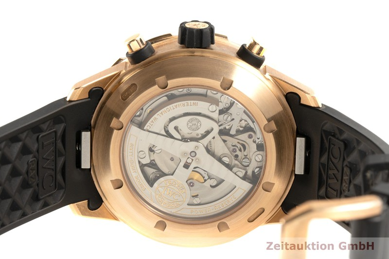 gebrauchte Luxusuhr IWC Aquatimer Chronograph 18k Gold Automatik Kal. 89360 Ref. 3769  | 2101991 _1