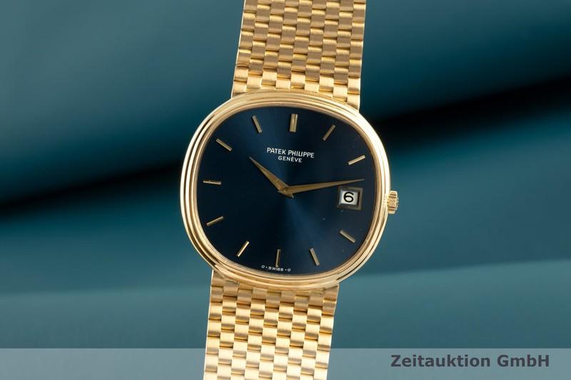 gebrauchte Luxusuhr Patek Philippe Ellipse 18k Gold Automatik Kal. 28-255C Ref. 3839/1  | 2102006 _0