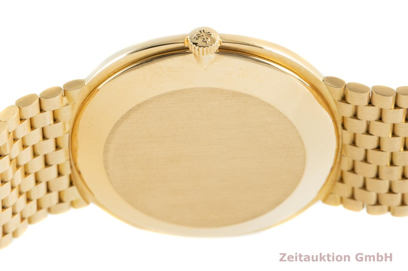 gebrauchte Luxusuhr Patek Philippe Ellipse 18k Gold Automatik Kal. 28-255C Ref. 3839/1  | 2102006 _1