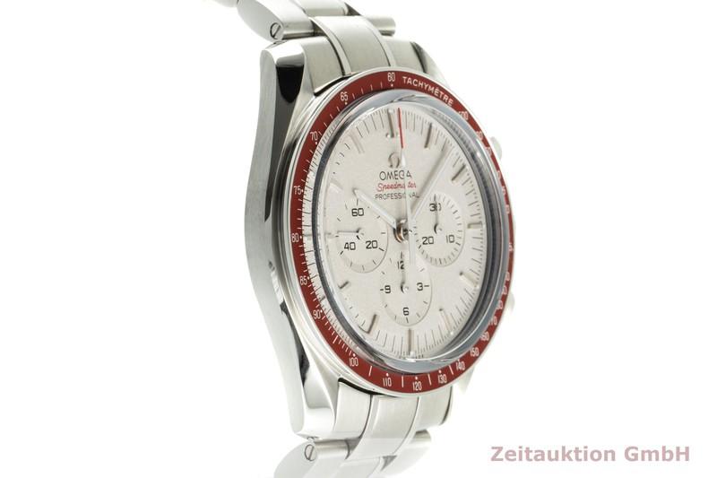 gebrauchte Luxusuhr Omega Speedmaster Chronograph Stahl Handaufzug Kal. 1861 Ref. 522.30.42.30.06.001 LIMITED EDITION   2102018 _0
