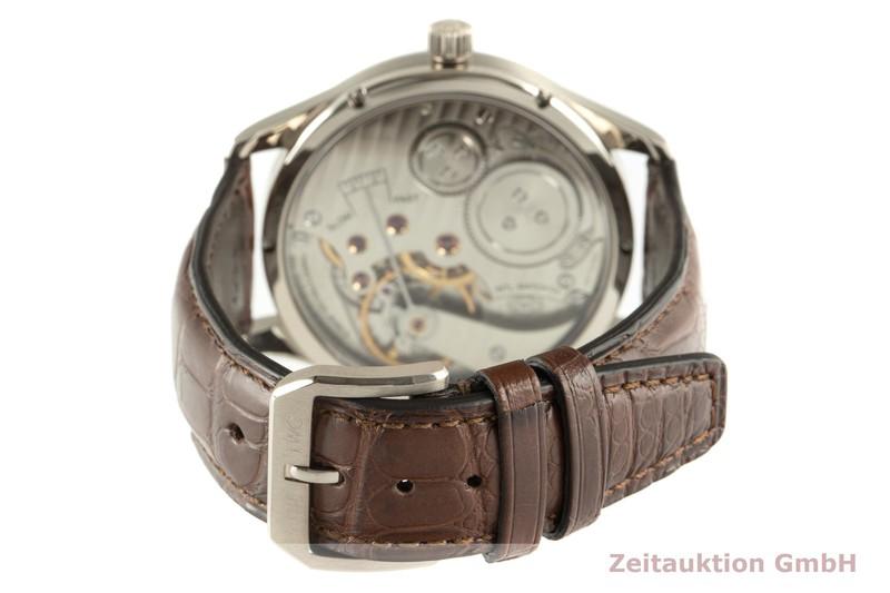 gebrauchte Luxusuhr IWC Portugieser 18k Weissgold Handaufzug Kal. 98245 Ref. IW544404    2102024 _1