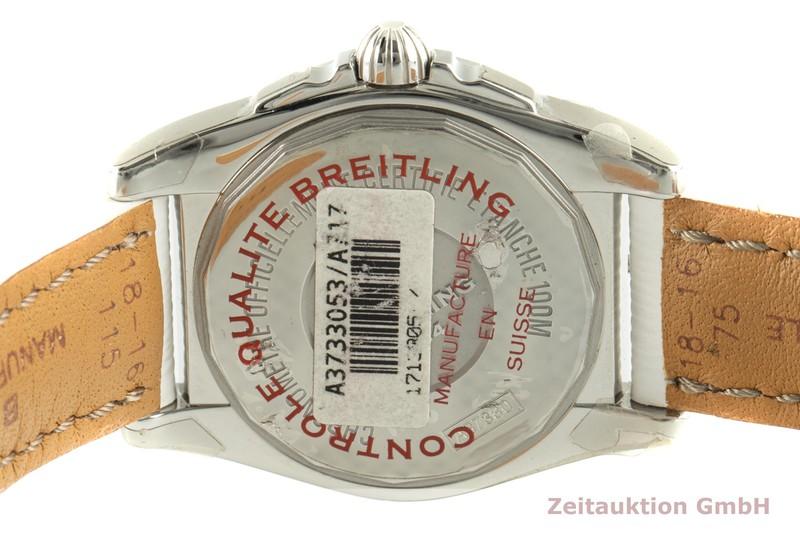 gebrauchte Luxusuhr Breitling Galactic Stahl Automatik Ref. A3733053/A717  | 2102044 _1