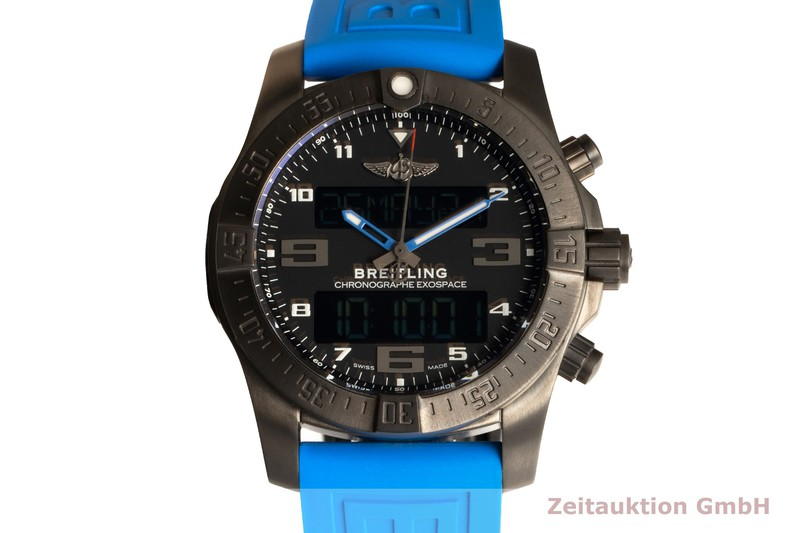 gebrauchte Luxusuhr Breitling Exospace Chronograph Titan Quarz Kal. B55 Ref. VB5510H2/BE45  | 2102046 _0