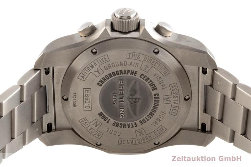 gebrauchte Luxusuhr Breitling Cockpit Chronograph Titan Quarz Kal. B50 Ref. EB5010  | 2102047 _1