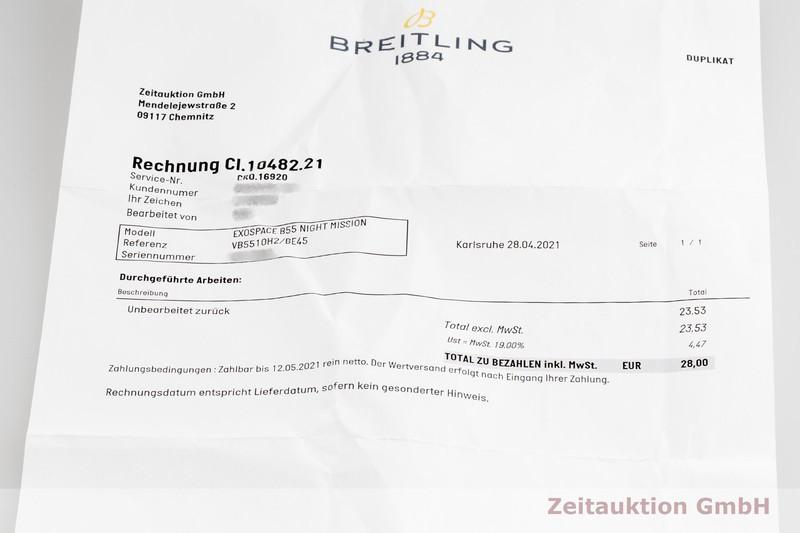 gebrauchte Luxusuhr Breitling Exospace Chronograph Titan Quarz Ref. VB5510    2102048 _1