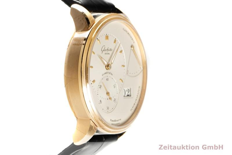 gebrauchte Luxusuhr Glashütte PanoReserve 18k Gold Handaufzug Kal. GO 65 Ref. 65.01.25.15.04    2102049 _0