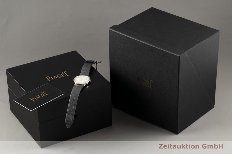 gebrauchte Luxusuhr Piaget Altiplano 18k Weissgold Handaufzug Kal. 450P Ref. GOA39106, P10651    2102066 _0