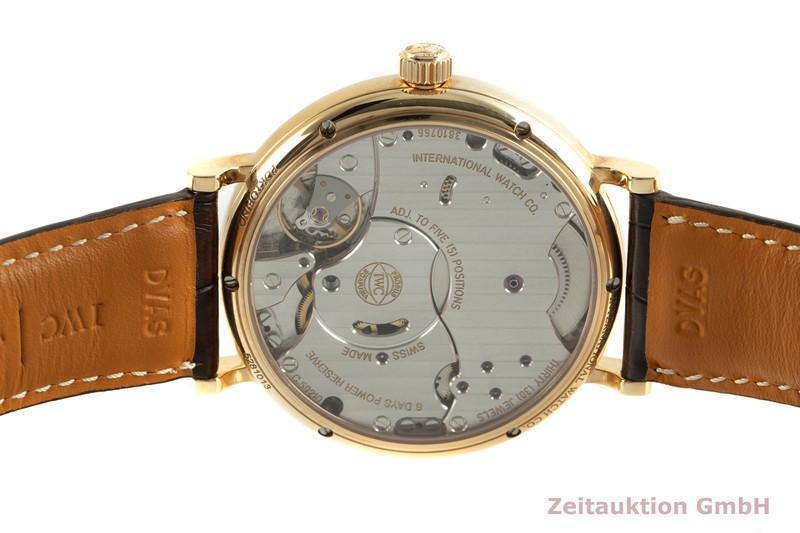 gebrauchte Luxusuhr IWC Portofino 18k Gold Handaufzug Kal. C.59210 Ref. IW510104  | 2102076 _1