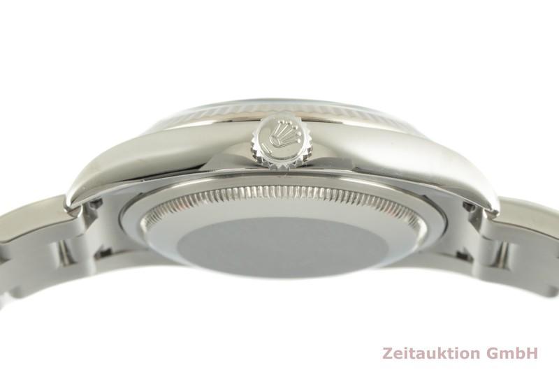 gebrauchte Luxusuhr Rolex Datejust Stahl / Weissgold Automatik Kal. 3135 Ref. 116234  | 2102085 _1
