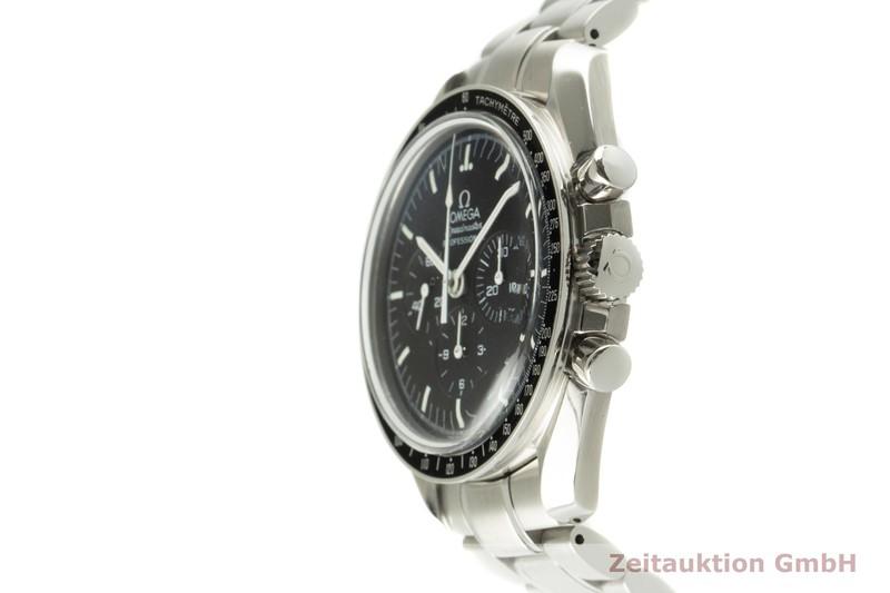 gebrauchte Luxusuhr Omega Speedmaster Chronograph Stahl Handaufzug Kal. 1863 Ref. 3572.50.00  | 2102089 _0