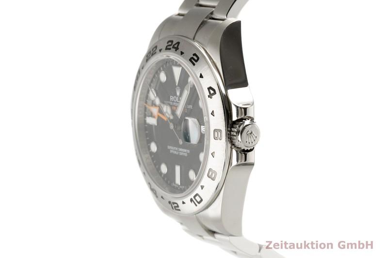 gebrauchte Luxusuhr Rolex Explorer II Stahl Automatik Kal. 3187 Ref. 216570  | 2102105 _0