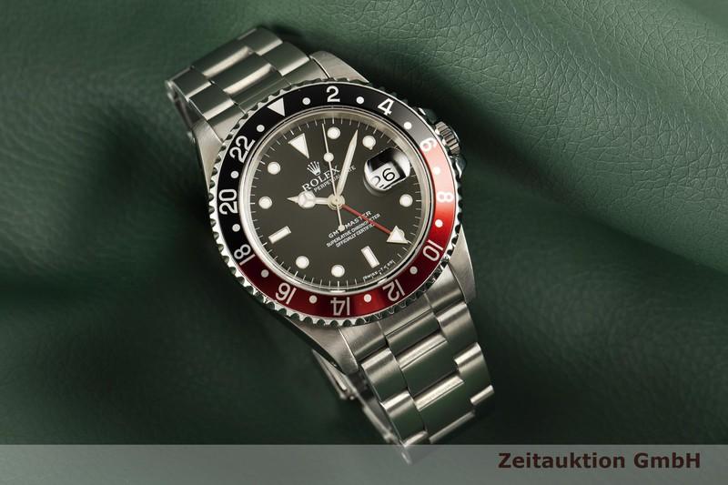 gebrauchte Luxusuhr Rolex GMT Master Stahl Automatik Kal. 3175 Ref. 16700  | 2102109 _0