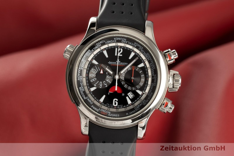 gebrauchte Luxusuhr Jaeger LeCoultre Master Compressor Chronograph Stahl / Titan Automatik Kal. 752 Ref. 150.8.22  | 2102112 _0