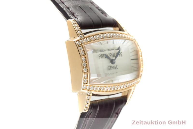 gebrauchte Luxusuhr Patek Philippe Gondolo 18k Rotgold Quarz Kal. E15 Ref. 4981  | 2102118 _0