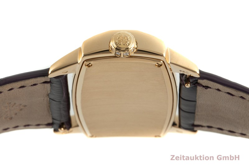 gebrauchte Luxusuhr Patek Philippe Gondolo 18k Rotgold Quarz Kal. E15 Ref. 4981  | 2102118 _1