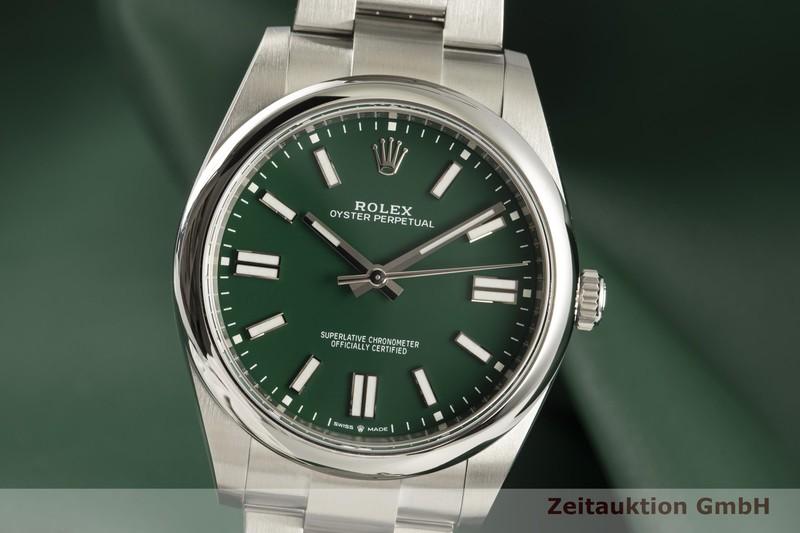 gebrauchte Luxusuhr Rolex Oyster Perpetual Stahl Automatik Ref. 124300  | 2102141 _0