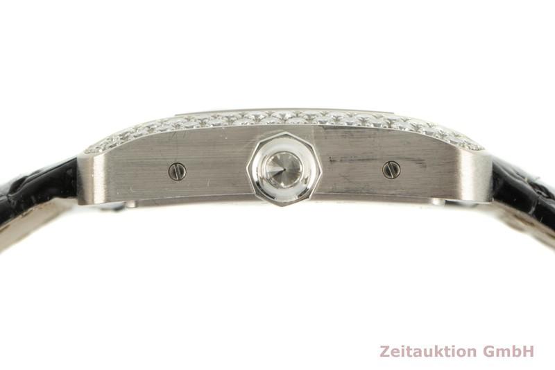 gebrauchte Luxusuhr Cartier Tank Divan 18k Weissgold Quarz Kal. 690 Ref. 2614, WA 301370   | 2102165 _1