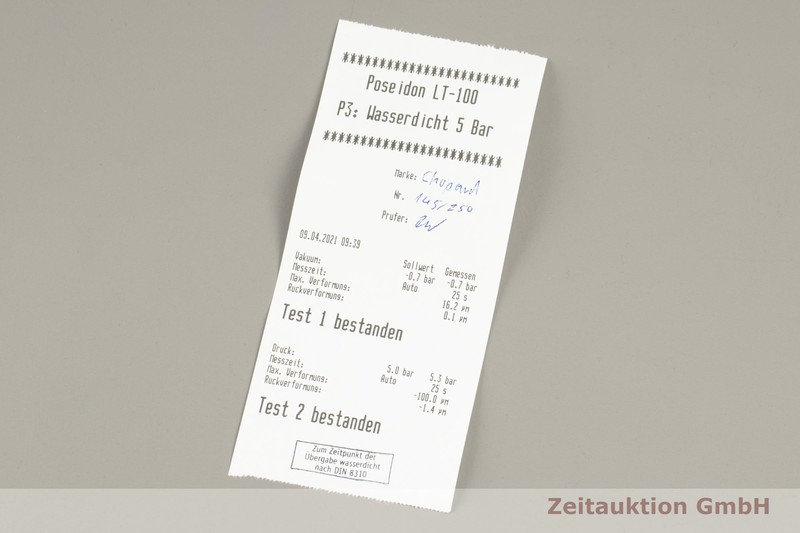gebrauchte Luxusuhr Chopard Grand Prix Chronograph 18k Weissgold Automatik Kal. 1188 Ref. 16/1256/1 LIMITED EDITION   2102167 _1