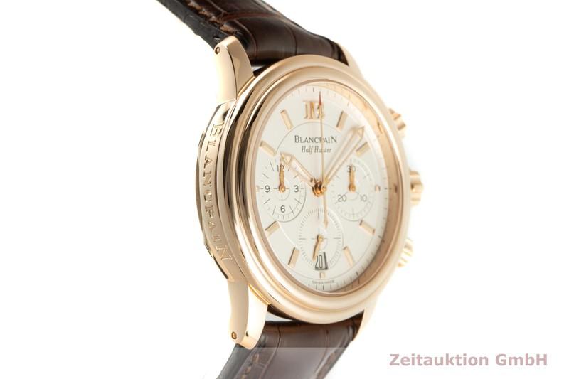 gebrauchte Luxusuhr Blancpain Half Hunter Chronograph 18k Rotgold Automatik Kal. 1185 LIMITED EDITION   2102188 _0