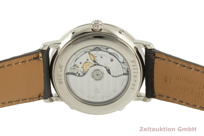 gebrauchte Luxusuhr Blancpain Villeret 18k Weissgold Automatik Kal. 6763 Ref. 6263  | 2102207 _1
