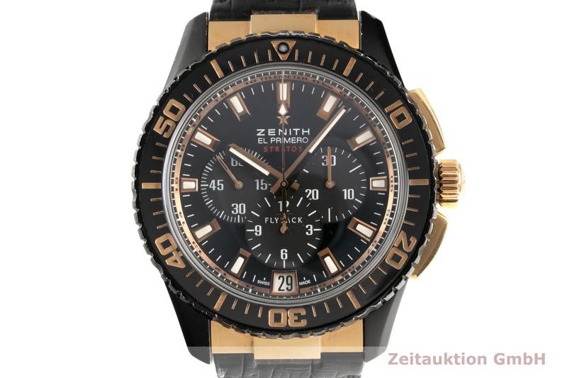 gebrauchte Luxusuhr Zenith El Primero Chronograph Stahl / Gold Automatik Kal. 405 Ref. 85.2060.405/23.C714  | 2102210 _0