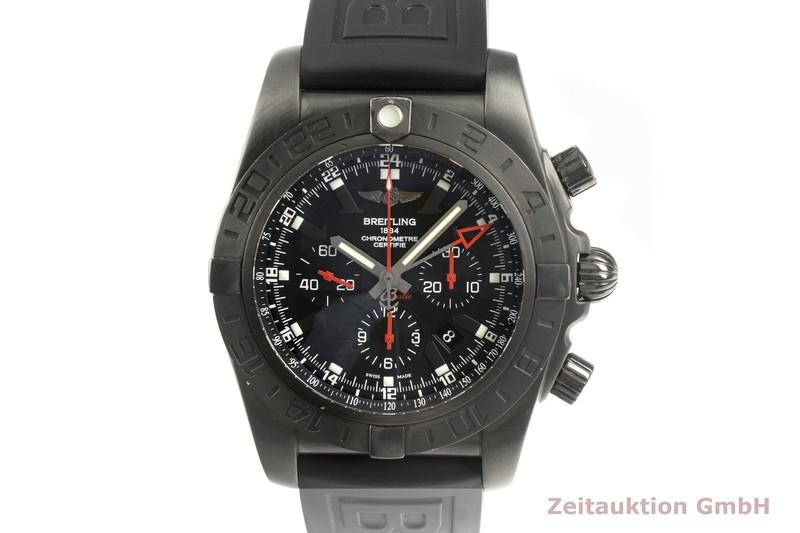 gebrauchte Luxusuhr Breitling Chronomat 47 GMT Chronograph Stahl Automatik Kal. B04 Ref. MB0413 LIMITED EDITION   2102216 _0