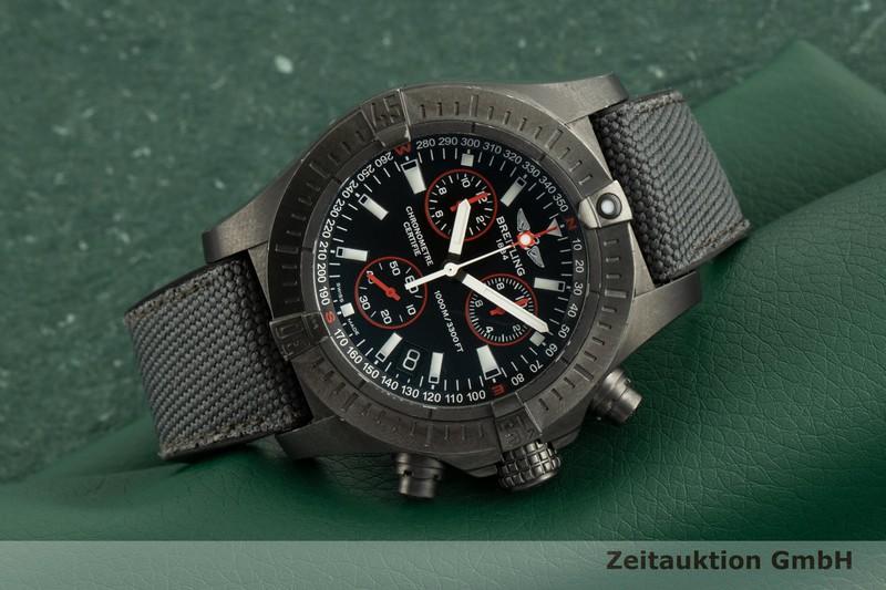 gebrauchte Luxusuhr Breitling Avenger Seawolf Chronograph Stahl Quarz Kal. B73 Ref. M73390 LIMITED EDITION | 2102217 _0