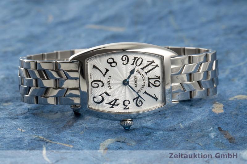 gebrauchte Luxusuhr Franck Muller Curvex Stahl Quarz Ref. 1752QZ  | 2102251 _0
