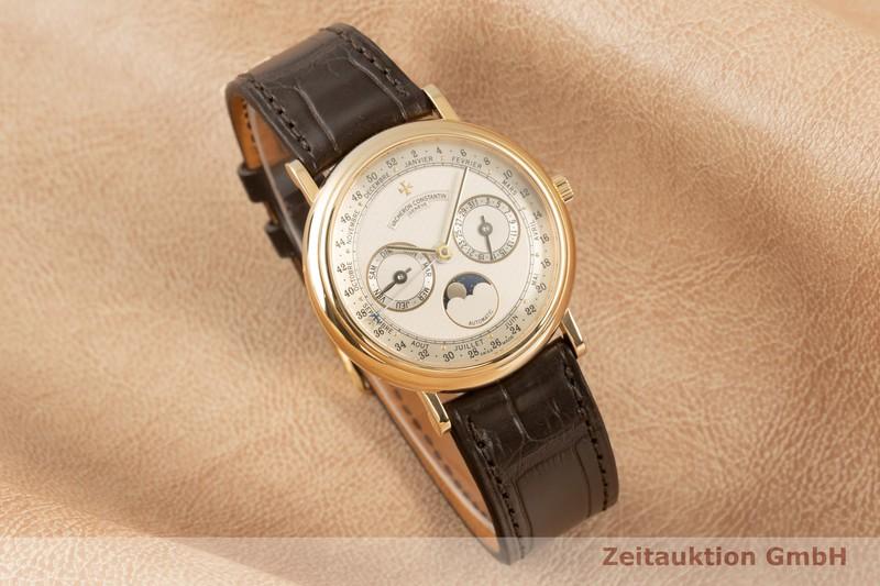 gebrauchte Luxusuhr Vacheron & Constantin Patrimony 18k Gold Automatik Kal. 1126 Ref. 47052    2102268 _0