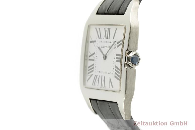 gebrauchte Luxusuhr Cartier Santos Dumont 18k Weissgold Handaufzug Kal. 430MC Ref. 2651    2102272 _0