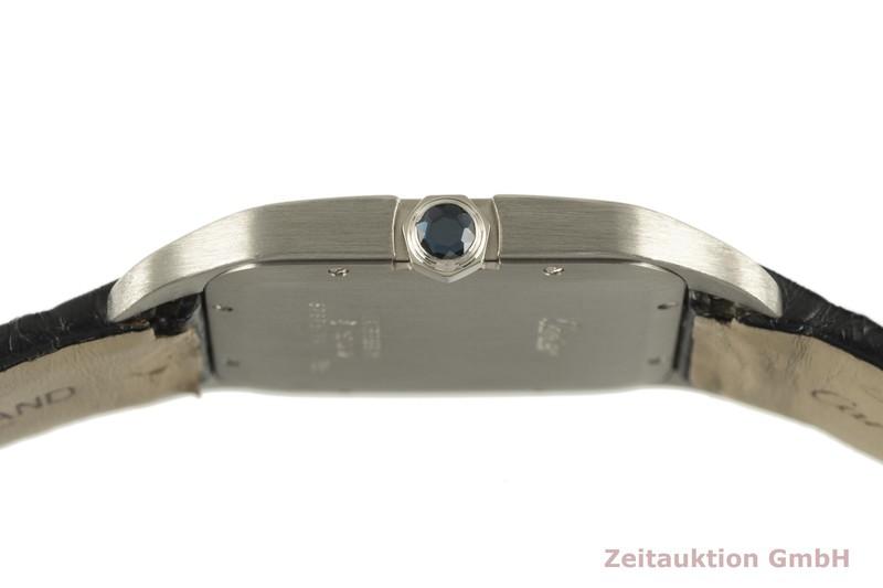 gebrauchte Luxusuhr Cartier Santos Dumont 18k Weissgold Handaufzug Kal. 430MC Ref. 2651    2102272 _1